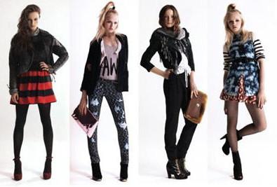 Девушки в модной одежде фото фото